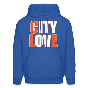 City Love Cavs Throwback Hoodie - Men's Hoodie