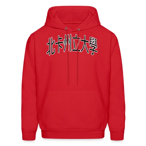 North Carolina State University, Traditional Chinese Hoodie (Red) - Men's Hoodie