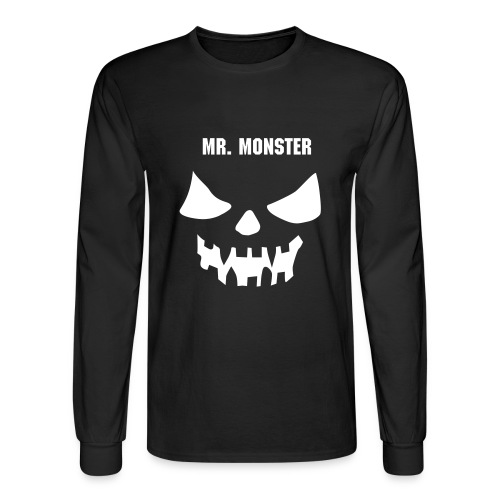 Mr. Monster - Men's Long Sleeve T-Shirt