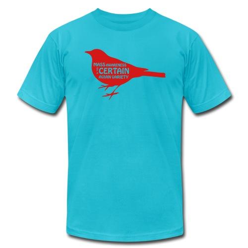 Bird is the Word - Men's Fine Jersey T-Shirt