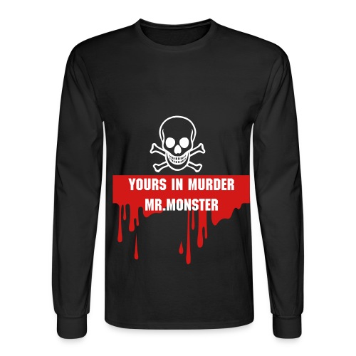 Yours In Murder - Men's Long Sleeve T-Shirt