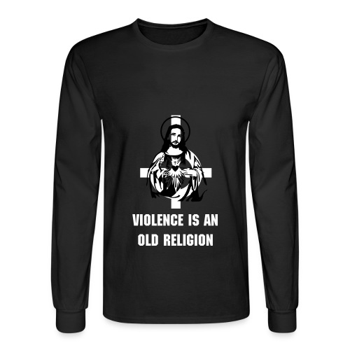 INVERTED CROSS - Men's Long Sleeve T-Shirt