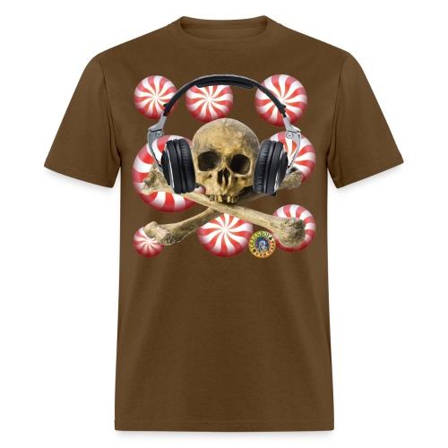 SKULL CANDY PEPPERMINT - Men's T-Shirt