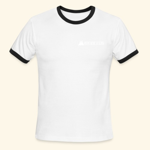 RVA-818 X-LAY (front- and backprint) - Men's Ringer T-Shirt