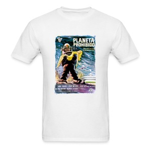 Forbidden Planet: Planeta Prohibido (Spanish) - Men's T-Shirt