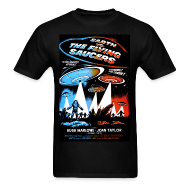 T-Shirts ~ Men's T-Shirt ~ Earth vs. the Flying Saucers