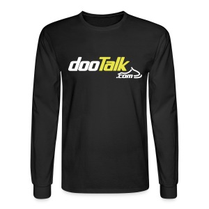 DOOTalk Long Sleeve Tee - Men's Long Sleeve T-Shirt