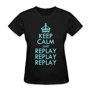 [SHINee] Keep Calm & Replay 3x - Women's T-Shirt