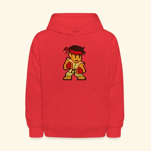 Pixelfighter Karateka (Vintageprint) - Kids' Hoodie