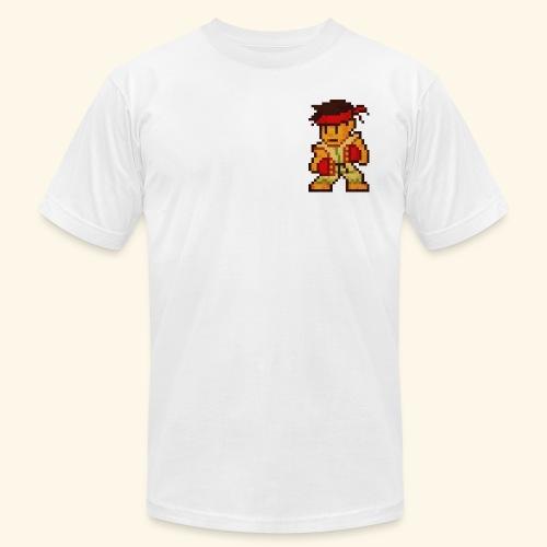 Pixelfighter Karateka (Vintageprint) - Men's Fine Jersey T-Shirt