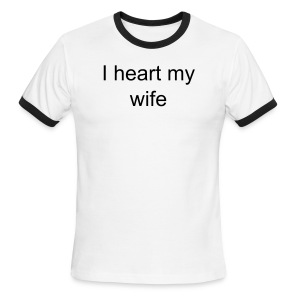 heart wife - Men's Ringer T-Shirt