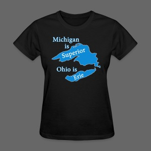 Michigan is Superior Women's Standard Weight T-Shirt - Women's T-Shirt
