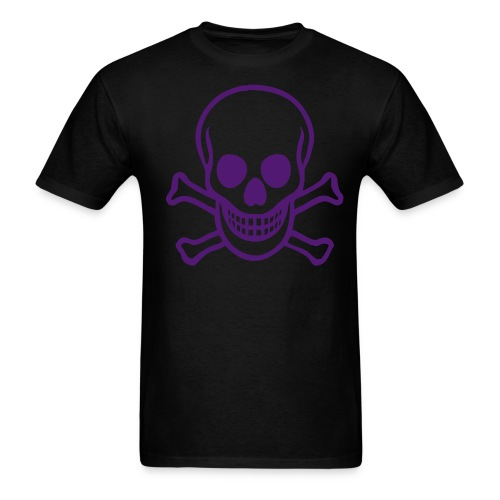Purple Skull - Men's T-Shirt
