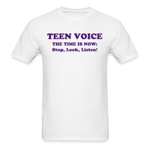 Teen Voice Men's Shirt - Men's T-Shirt