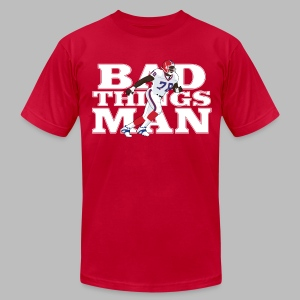 Bad Things Man - Bruce Smith - Men's T-Shirt by American Apparel
