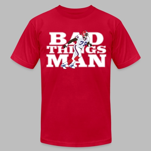 Bad Things Man - Bruce Smith - Men's Fine Jersey T-Shirt