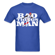 T-Shirts ~ Men's T-Shirt ~ Bad Things Man - Bruce Smith