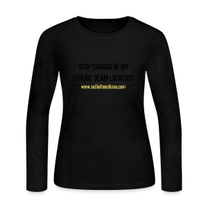 Etheric Beam Locators (Long Sleeve Tee) - Women's Long Sleeve Jersey T-Shirt