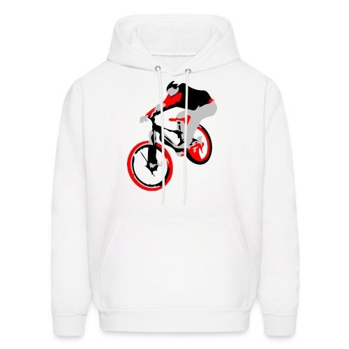 MTB Hoodie - Ollie Bike Trick - Men's Hoodie