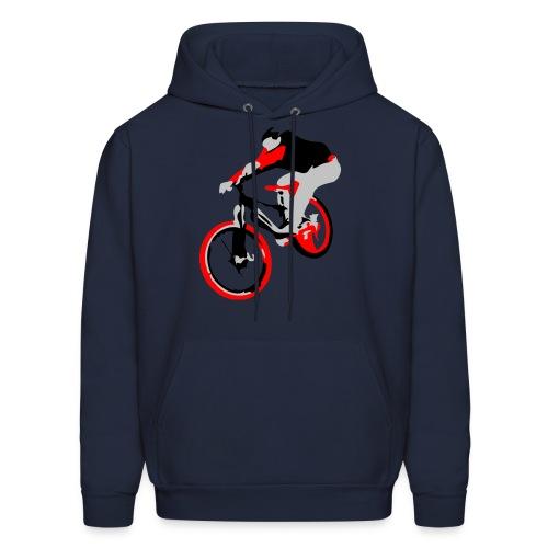 Mountain Bike Hoodie - Ollie Bike Trick  - Men's Hoodie