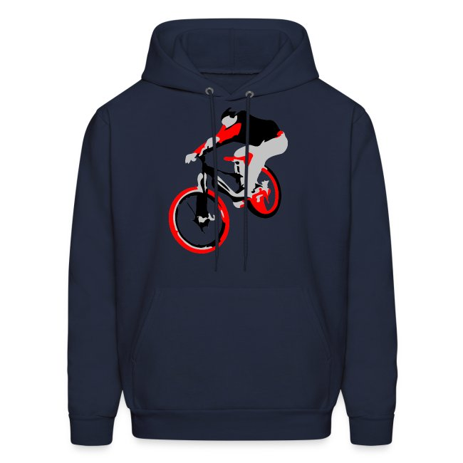Mountain Bike Hoodie - Ollie Bike Trick