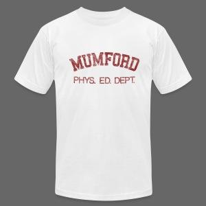 Mumford Phys. Ed. Dept. Men's American Apparel Tee - Men's Fine Jersey T-Shirt