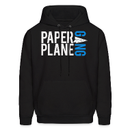 Hoodies ~ Men's Hoodie ~ Paper Plane Gang Hoodie