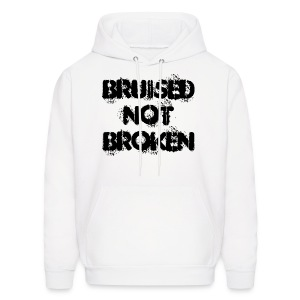 BNB Unisex Hooded Sweatshirt (White) - Men's Hoodie