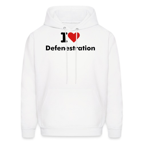 defenestration - Men's Hoodie