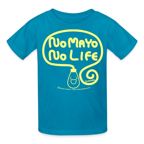No Mayo No Life - Kids' T-Shirt