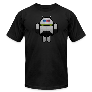 T-Shirts ~ Men's T-Shirt by American Apparel ~ OMGrant - Front & Back