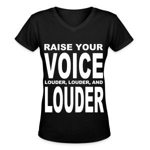 [SHINee] Louder and Louder - Women's V-Neck T-Shirt