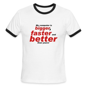 better - Men's Ringer T-Shirt