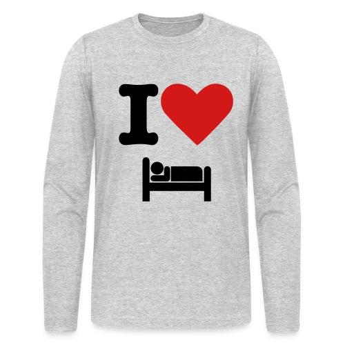 I love sleep - Men's Long Sleeve T-Shirt by Next Level