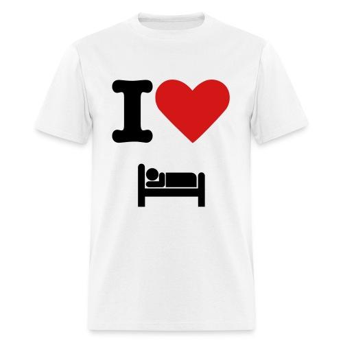 I love sleeping - Men's T-Shirt