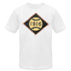 Boston 1916 Patch Men's American Apparel Tee - Men's T-Shirt by American Apparel