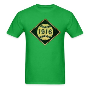 Boston 1916 Patch Men's Standard Weight T-Shirt - Men's T-Shirt