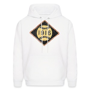 Boston 1916 Patch Men's Hooded Sweatshirt - Men's Hoodie