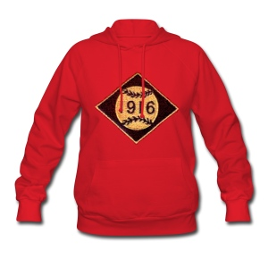 Boston 1916 Patch Women's Hooded Sweatshirt - Women's Hoodie