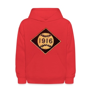 Boston 1916 Patch Kid's Hooded Sweatshirt - Kids' Hoodie