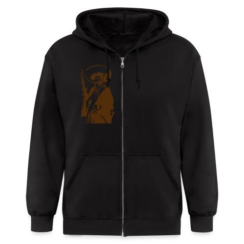 crucial hoodie - Men's Zip Hoodie