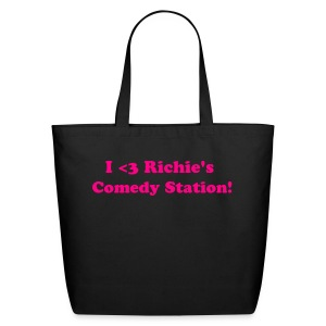 I Heart Richie's Comedy Station Tote - Eco-Friendly Cotton Tote