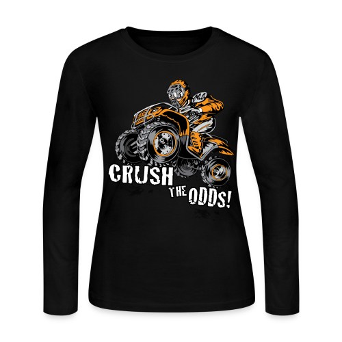 Crush The Odds - Women's Long Sleeve Jersey T-Shirt
