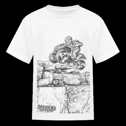 Quad Styled Rock Crawler - Kids' T-Shirt