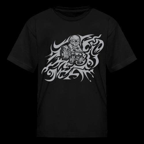 Flamed Skully - Kids' T-Shirt