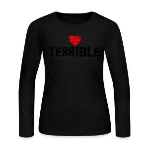 Heart Terrible Women's Long-sleeve JerseyT - Women's Long Sleeve Jersey T-Shirt