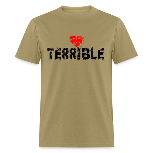 Heart Terrible Men's Standard Weight T - Men's T-Shirt