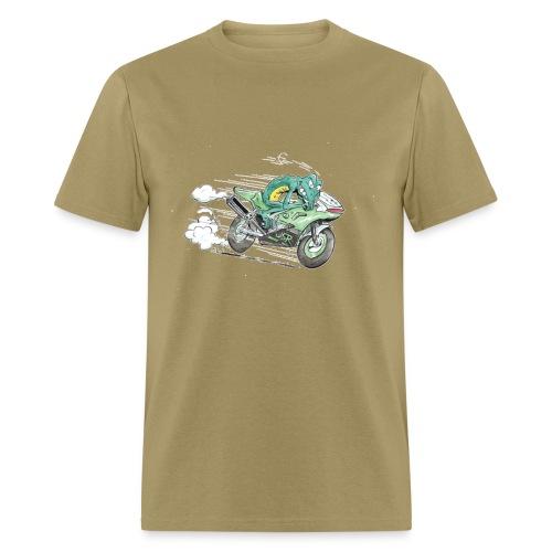 Froggy the racefrog - Men's T-Shirt