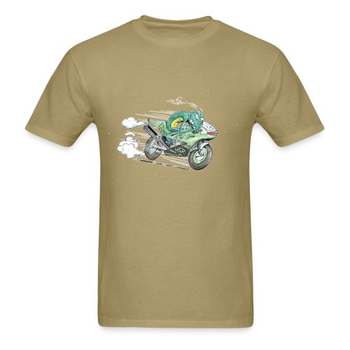 Froggy the racefrog - Men's T-Shirt