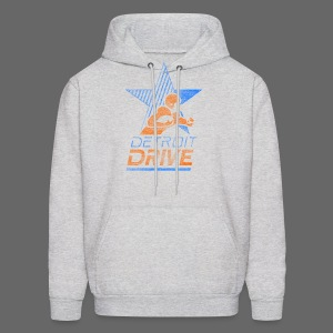 Detroit Drive Men's Hooded Sweatshirt - Men's Hoodie